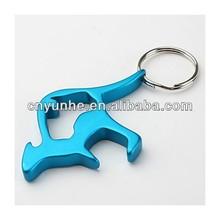 key holder Metal Bottle openers keyring with custom design