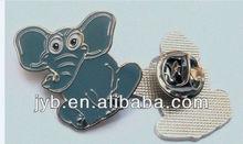 the latest hard enamel elephant lapel pin badge for zoon