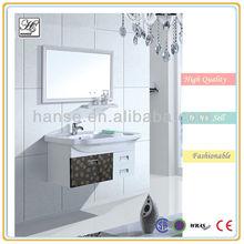 HS-S6040 high rattan decorative bathroom wall cabinets