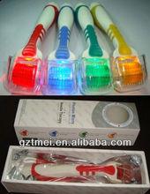 LED vibration derma roller 415nm blue light 633nm red light