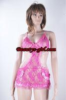 lace fashion pink babydoll