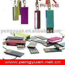 Mini usb swivel pen drive metal , Size:31*13*6 mm (PY-U-145)