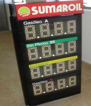 Dot matrix led moving message board various color