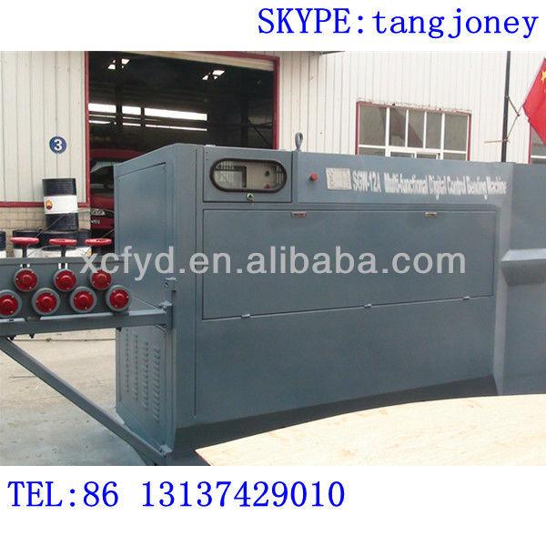 Alta velocidad de barras de acero enderezar y de la máquina dobladora por forge world hierro