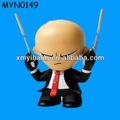 baldheaded tough guy mais recente dvd filmes estatueta de resina