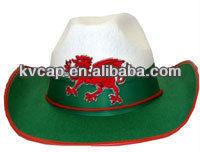 FANCY DRESS HAT WELSH/ ST DAVIDS DAY/ COWBOY/RED DRAGON