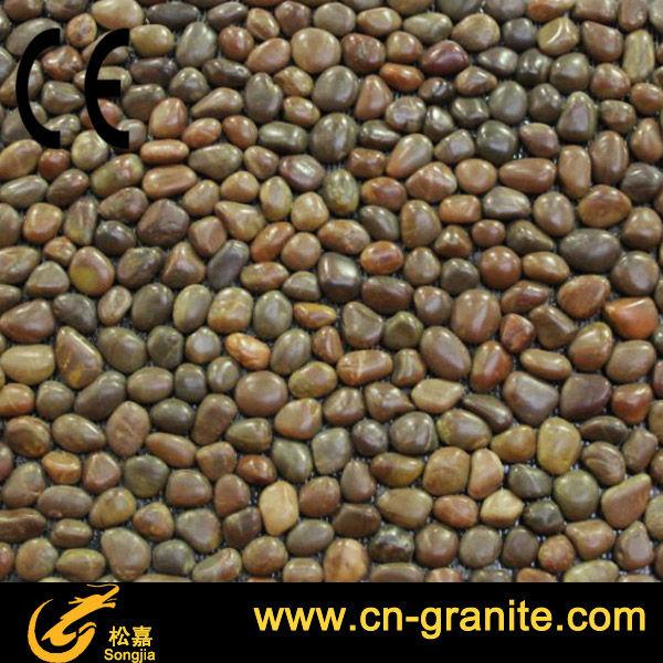 Pisos Para Baños De Piedra:Brown de la ronda granito piedra piedra para el piso alfombras de