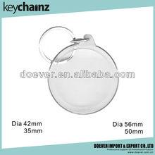 Round Blank Acrylic Photo Keyring