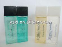 30ml square bottle hotel shampoo/disposable hotel cosmetics/hotel shampoo hotel bath gel hotel body lotion
