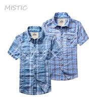 2013 new fashion check pattern new design short sleeve men's casual shirt