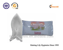 cotton disposable restaurant and hotel refreshing hand wet towels/tissues moist towelette