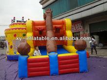 2013 inflatable basketball frame