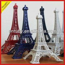 Eiffel Tower metal sculpture
