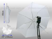 Retractable diffused umbrella