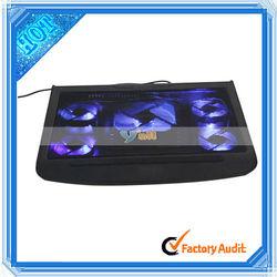 Wholesale 5 Fan Laptop Cooling Pad Black (83005182)