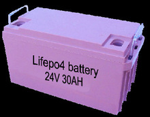 24v 30ah Lithium Electric Vehicle Batteries