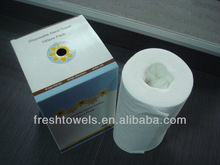 good quality disposable Nonwoven wipes for beauty salon dry wipes disposable bath towel