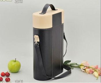 2013 new design basket wine bottle carriers