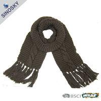 knit 100 acrylic pashmina shawl