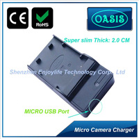 Low Cost Digital Camera EN-EL12 Travel Charger With LED high quality