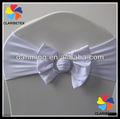 nueva llegada del spandex blanco arco silla de la boda para cubierta de la silla