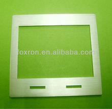 Custom brushing aluminum laptop housing shell