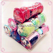 Cina 2013 shaoxing top 10 fatto- in- cina tessuto100%poliestere pile maglia coperta patchwork