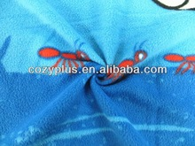 2013 china shaoxing top 10 globalsources 100% Polyester Fabric Polar Fleece cut and sew knit fabrics