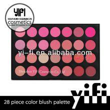28 Blush Palette silky loose powder blush