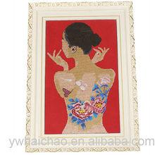 DIY gift sexy lady design diamond painting
