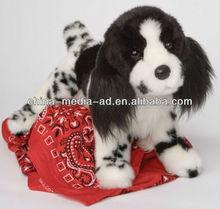Custom stuffed plush dog toy, plush animal dog toy