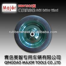 13*2.5 high quality solid wheelbarrow wheels rubber wheel