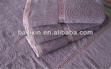 bath mat with jacquard
