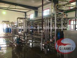 Banana processing machine