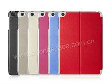 2013 NEW oem leather smart case for ipad mini