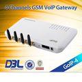 4_sim téléphone gsm voip, serveur de relais, goip4