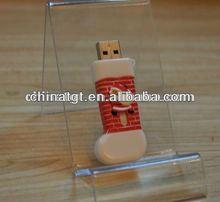 Promotion Gift USB Disk Christmas Stocking Shaped