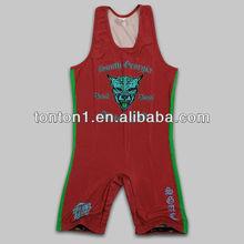 2013 Custom Lycra Sportswear Wrestling Singlets