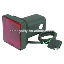 Trailer Hitch Cover with Brake Light
