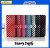 High quality Pu leather flip case cover for apple iphone 5