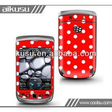 For blackberry 9800 cute sticker/blackberry case cover
