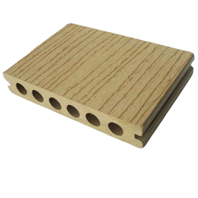Ext rieur plancher composite bois plastique pont wpc for Plancher exterieur plastique