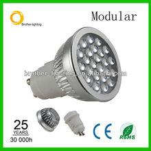 6w 24leds gu10 smd led bulb