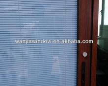 Aluminium mini blind in door