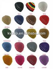 100% Cotton KUFI Crochet Beanie Skull Cap Knit Hat Brand New