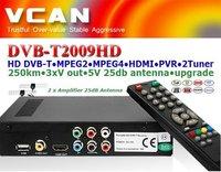 hd mpeg4 car dvb-t receiver with sd:DVB-2009HD