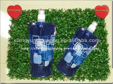 Plastic Drinking Bottle/Clear Plastic Container With Lid 05