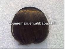 top quality cheap virgin remy beautiful hair bangs for women