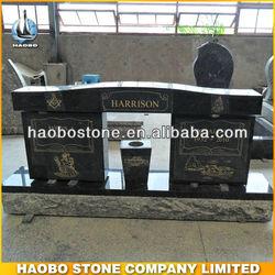 Black Granite Double Monument Supplier