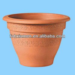 Terracotta clay bell pot